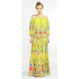 Dresses & Skirts - Guava Floral Maxi Skirt